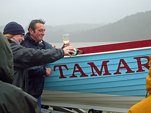 Gig Boat: Tamar | click to enlarge